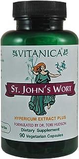 Vitanica, St. John's Wort, Mood and Emotional Support, Vegan, 90 Capsules