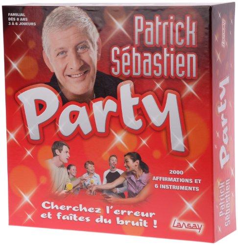 Lansay - 75009 - Jeux De Société - Patrick Sébastien Party
