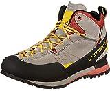 La Sportiva Boulder X Mid, Zapatillas de Senderismo Unisex Adulto, Multicolor (Grey/Red 000), 42 EU