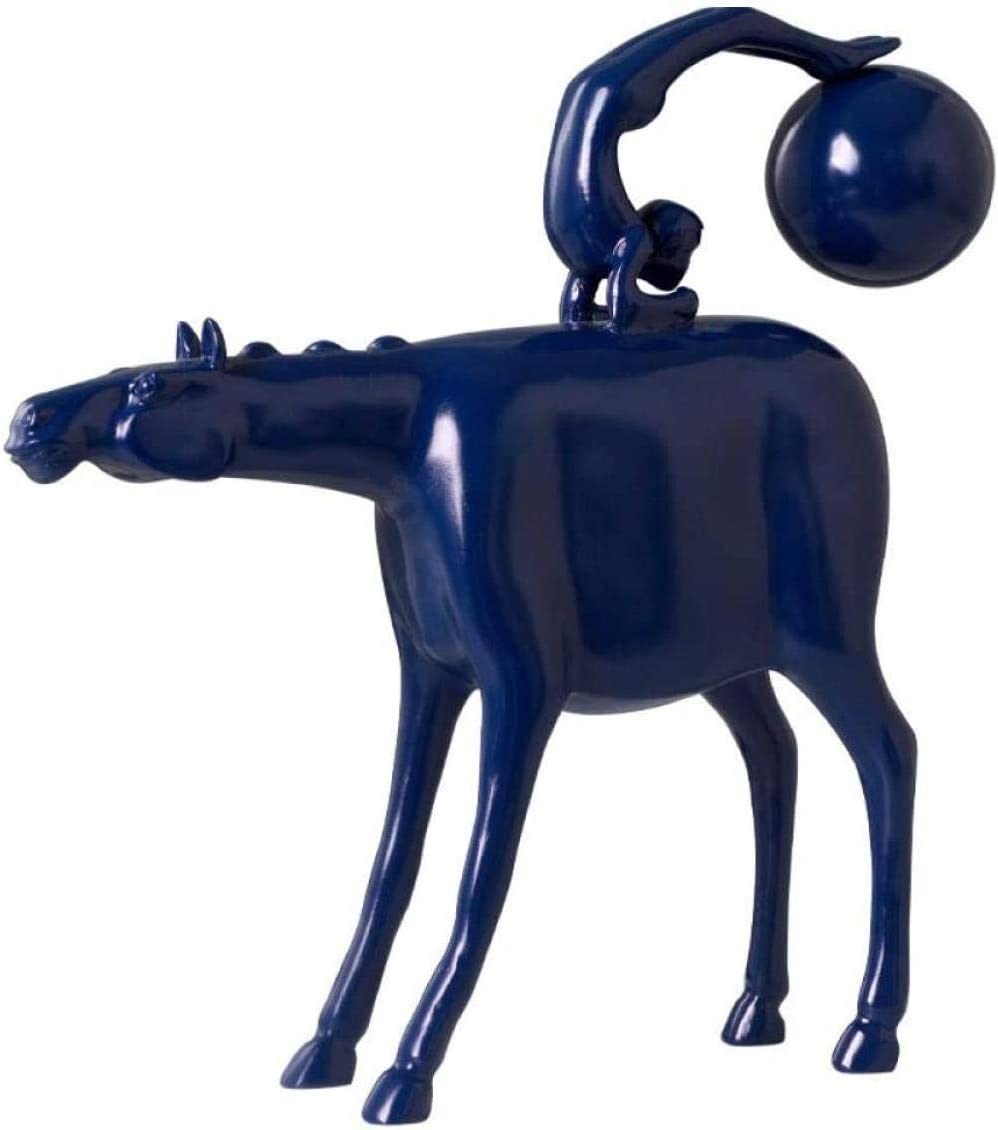 Max 44% OFF Statues Ornament Figurines Home Decoration Riding Horse OFFer