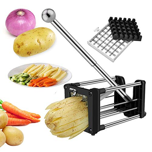 Wosweet Stainless Steel French Fry Cutter