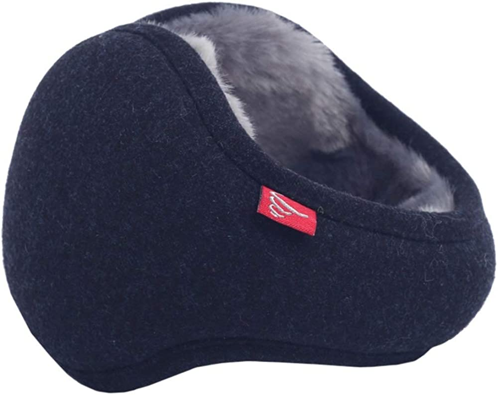 ZXQZ Ear Band Ear Warmer, Men's Warm Ear Bag Soft and Comfortable Earmuffs Wear Folding Ear Cover After Winter Earmuffs