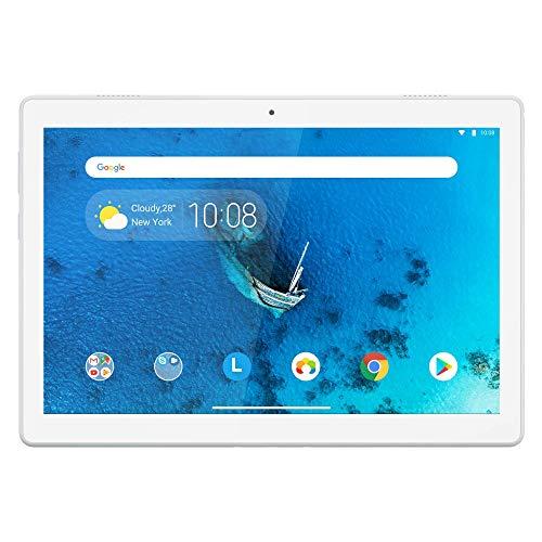 Lenovo Tab M10 25,5 cm (10,1 Zoll, 1280x800, HD, IPS, Touch) Tablet-PC (Qualcomm Snapdragon 429 Quad-Core, 2 GB RAM, 16 GB eMCP, Wi-Fi, Android 9) weiß (Generalüberholt)