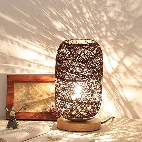 Wdckxy Luz nocturna – Luces decorativas, la lámpara de salón dormitorio simple moderna hueca tallada creativa ahorro de energía LED luz nocturna lámpara de mesa decorativa dormitorio