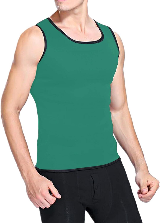 JSPOYOU Sauna Vest for Men Sacramento Mall Sweat Pullover Top Tank SALENEW very popular Workout Shirt