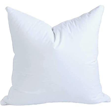 Pillowflex 10x10 Inch Cluster Fiber Pillow Form Insert Made In Usa Square Home Kitchen