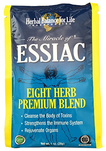Essiac Tea in 1 Oz. Packets. Total 8 Packets Makes 8 One Quart Bottles (2 Gallons) of Essiac Tea! A 64 Day Supply
