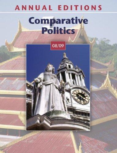 Annual Editions: Comparative Politics 08/09