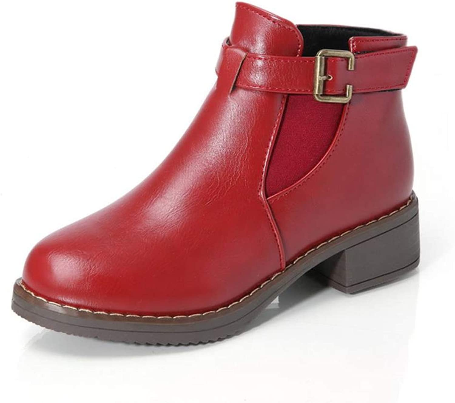 Cici shoes Women's Winter Fasion Ankle Boots