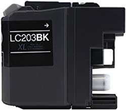WORLDS OF CARTRIDGES Compatible Ink Cartridge Replacement for Brother LC203BK (Black) for Use in MFC-J4320 / J4420 / J460 / J4620 / J480 / J485 / J5520 / J5620 / J5720 / J680 / J880 / J885