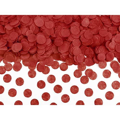 Di&Gi Confetti Papier Circolari - 15 Gr. - Rot