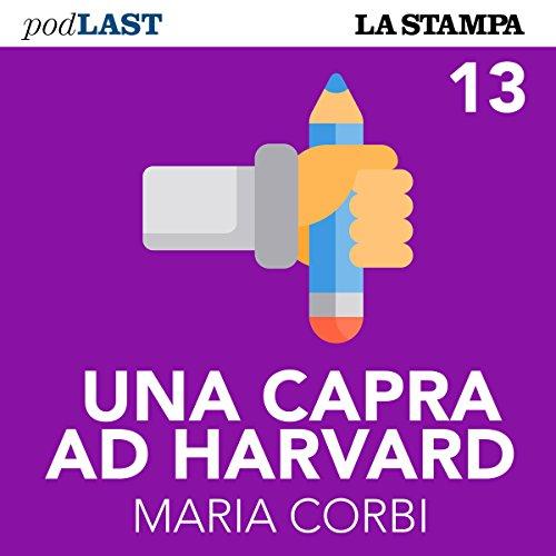 Un anno all'estero (Una capra ad Harvard 13) copertina