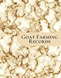 Goat Farming Records: Medical Information, Kidding Record, Record of Progeny, Gifts for Owners, Men, Women, Farmers, Adults, For Birthday, Christmas, Thanksgiving, New Year, (Goat Doe Breeding Log)