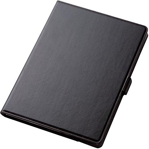ELECOM Cubierta de la solapa para el nuevo iPad Pro 10.5 cuero suave 360 grados rotable, con soporte [Negro] TB-A17360BK (Japan Import)