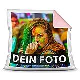Tassendruck Foto-Kissen Selbst gestalten - mit Foto individuell Bedruckt