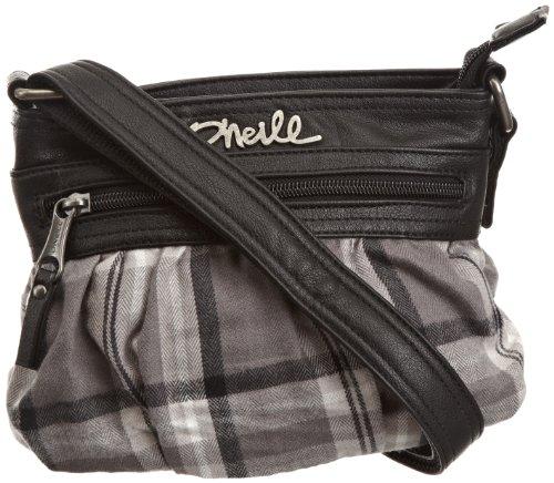 O'Neill Lundy - Bolso de Hombro para Mujer (tamaño pequeño), Mujeres, Lundy Small Shoulder Bag, Gris, Talla única