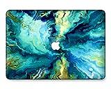 GangdaoCase Carcasa rígida de plástico ultra delgada para MacBook Pro de 16 pulgadas con Touch Bar/Touch ID A2141 (mármol A 309)