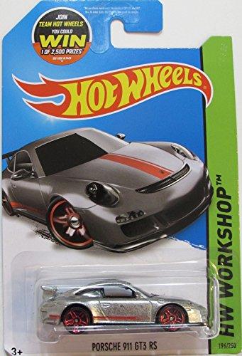 2015 Hot Wheels Zamac Edition Hw Workshop - Porsche 911 GT3 RS