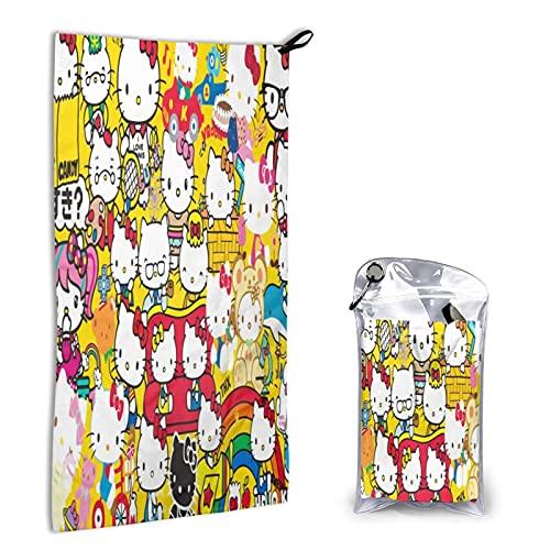 Large Puzzle Hello Kitty Luxury Toallas Face Cloths,Toallas de mano,Toallas de baño,Sábanas de...