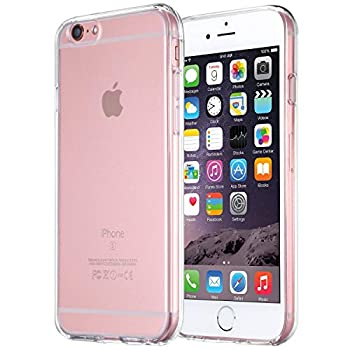 iPhone 6s Case tekSonic Apple iPhone 6/6s Case [Soft-Flex] Shock-Absorption Bumper [Crystal Clear] and Anti-Scratch Clear Back Cover Case for iPhone 6s iPhone 6 4.7 Inch  Transparent