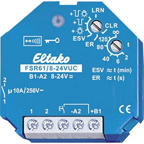Eltako 5011331 Funkaktor Stromstossschalter, 24 V FSR 61-8-24 VUC