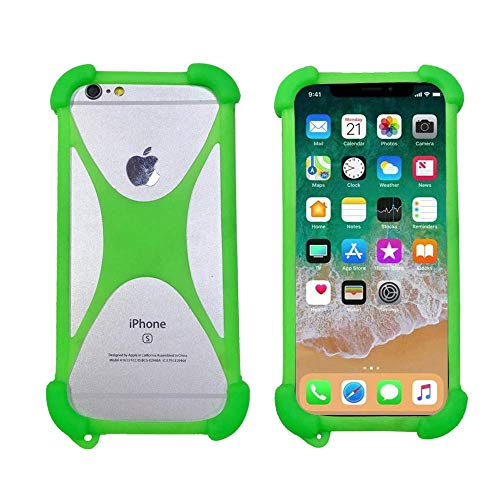 ABCTen Soft Phone Case for Umi Touch Z2 S2 S Z C Note 2 C2 A3 A1 Max London eMAX Shockproof Bumper Cover Flexible Silicone Case for Umidigi Crystal One Pro Zero X3 Super Rome X Plus E Iron(Green)
