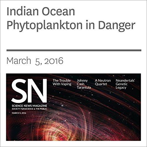 Indian Ocean Phytoplankton in Danger cover art