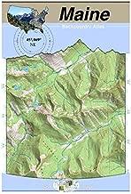 45°069° NE - Moosehead Lake, Maine Backcountry Atlas (Topo)