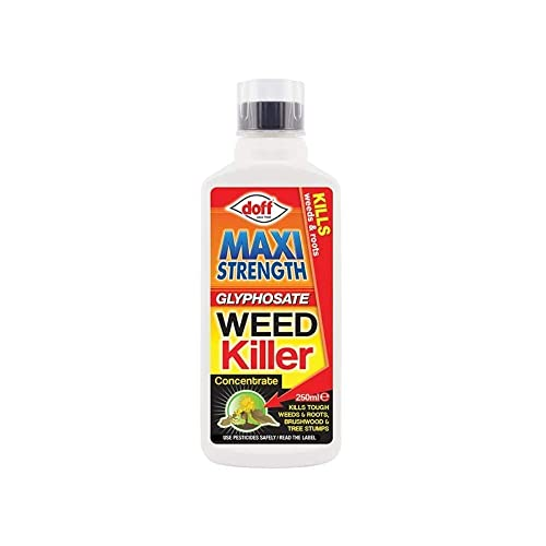 Doff Maxi Strength Glyphosate Weed Killer 250ml - Treats Up to 416m2