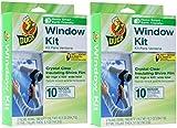 Duck Brand Indoor 10-Window Shrink Film Insulator Kit, 62-Inch x 420-Inch, 286216 2-Pack