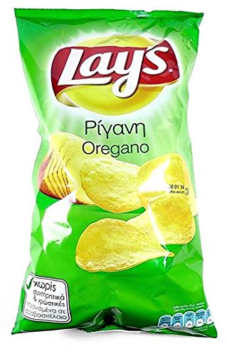 Lays Oregano Potato Chips Crisps Snacks 6 packs x 45g