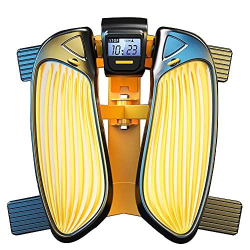 BJH Stepper per Esercizi, Stepper oscillante, Stepper up-Down, Stepper Fitness Silenzioso con Bande di Resistenza, Stepper da Palestra massaggiabili per l'allenamento a casa, Allenamento complet