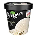 Breyers, Vanilla All Natural Ice Cream, Pint (8 Count)