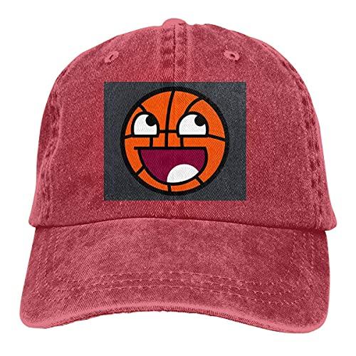 Jopath Gorra de béisbol de cara de baloncesto