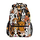 ALAZA Cute Doodle Dog Print Animal Large Backpack Personalized Laptop iPad...