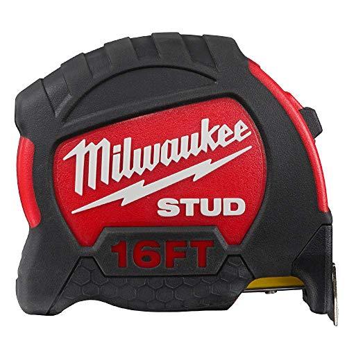 Milwaukee 48-22-9916 16-Foot Reinforced Impact Resistant Stud Tape Measure
