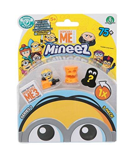 Despicable Me 70000221 - 3 Minion, 2.5 cm