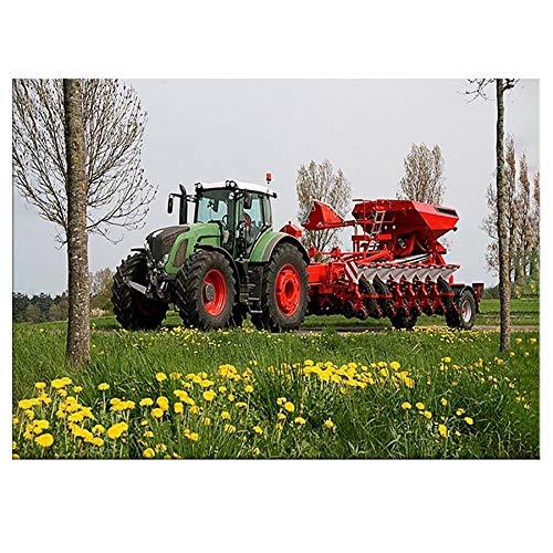 Puzzle 1000 Piezas Art Tractor Imagen Art Deco Regalo en Juguetes y Juegos Rompecabezas de Juguete de descompresión intelectual50x75cm(20x30inch)