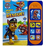 Nickelodeon Paw Patrol Chase, Skye, Marshall, and More! - Ready, Set, Rescue! Sound Board Book - PI Kids (Play-A-Sound)
