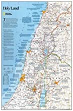Best national geographic israel map Reviews
