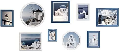 Photo Wall Creative Living Room White Blue Decorative Gift Modern Art Photo Frame Photo Wall