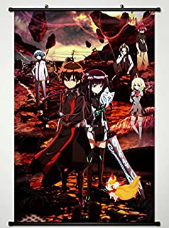 Twin Star Exorcists Wall Scroll Poster Fabric Painting for Anime Key Roles L