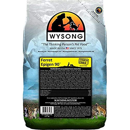 Wysong Ferret Epigen 90 - Dry Ferret Food - 5 Pound Bag
