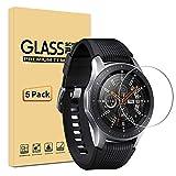 [Lot de 5] Samsung Galaxy Watch 46mm Protection écran, Film Protection en Verre...