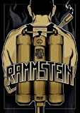 Rammstein Poster North America Tour 2012 (59cm x 84cm)