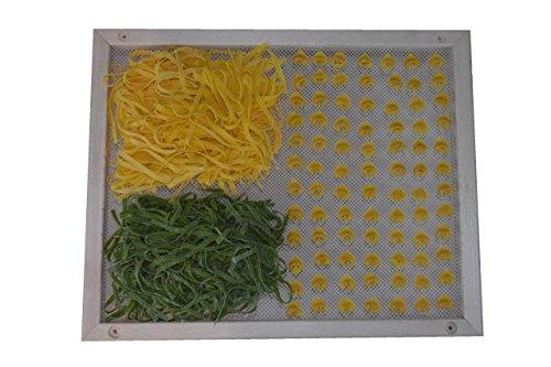 ELETTRO CENTER Art.390 Vassoio Asciuga Pasta, Legno, Beige