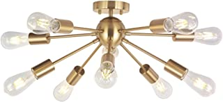 Best semi flush pendant light Reviews