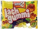 nimm2 Lachgummi – Spaßiges Fruchtgummi mit Vitaminen – 18er Pack (18 x 200g Beutel)