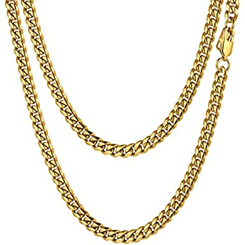 Best gold stainless steel chain Reviews