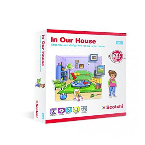Halilt Scotchi in Our House Educatonal Game (Inviato da UK) [Importato da UK]